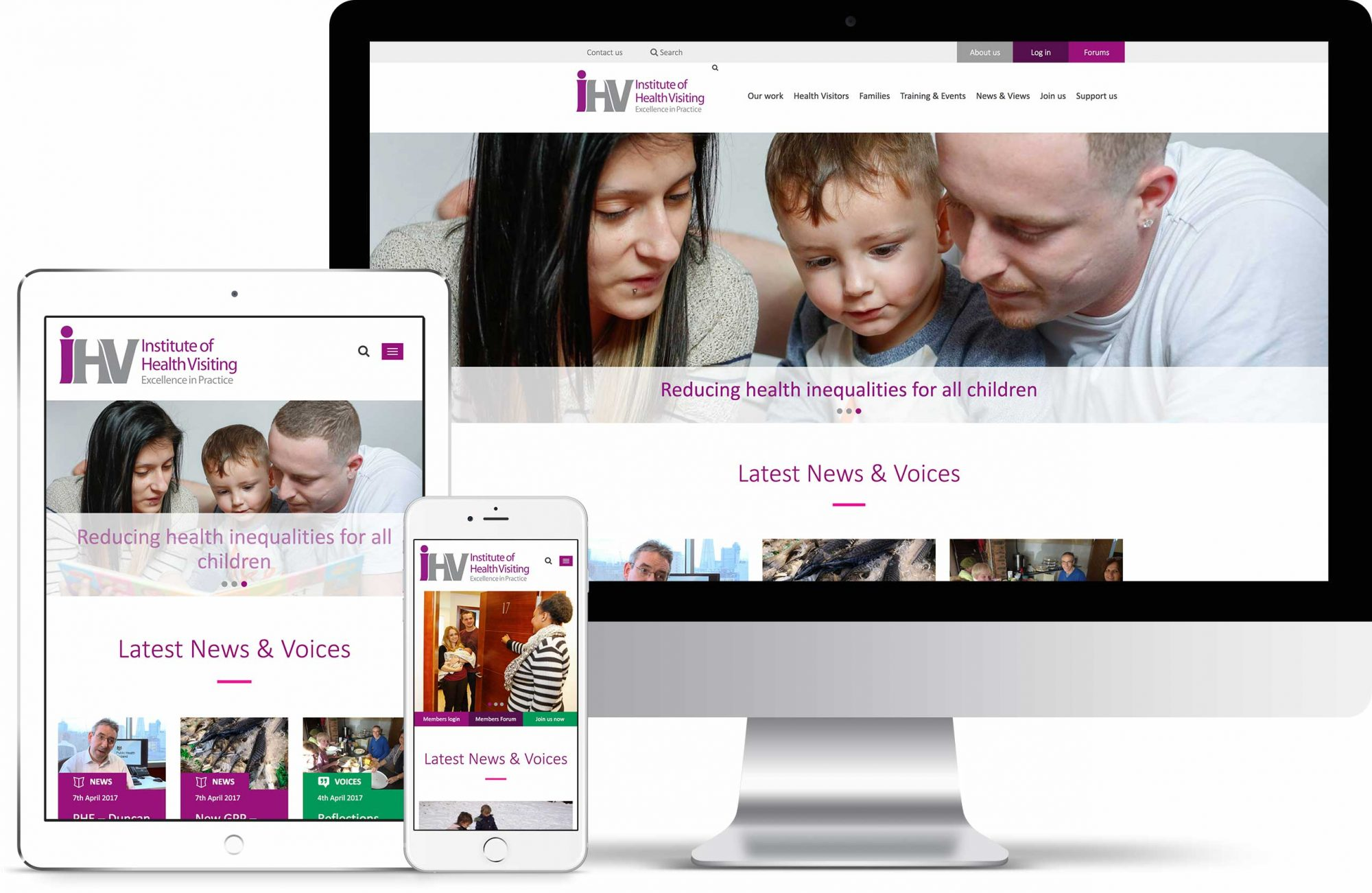 IHV desktop, ipad and mobile devices