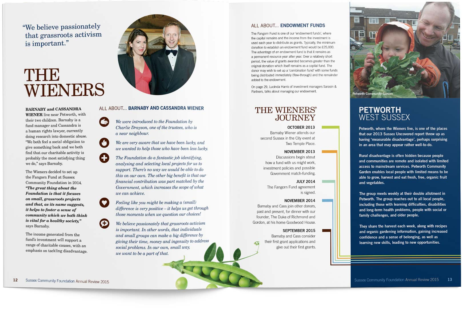 Annual review 2015 pages 12-13