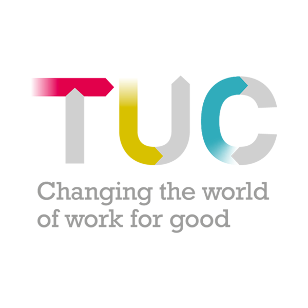 The Trades Union Congress (TUC) logo
